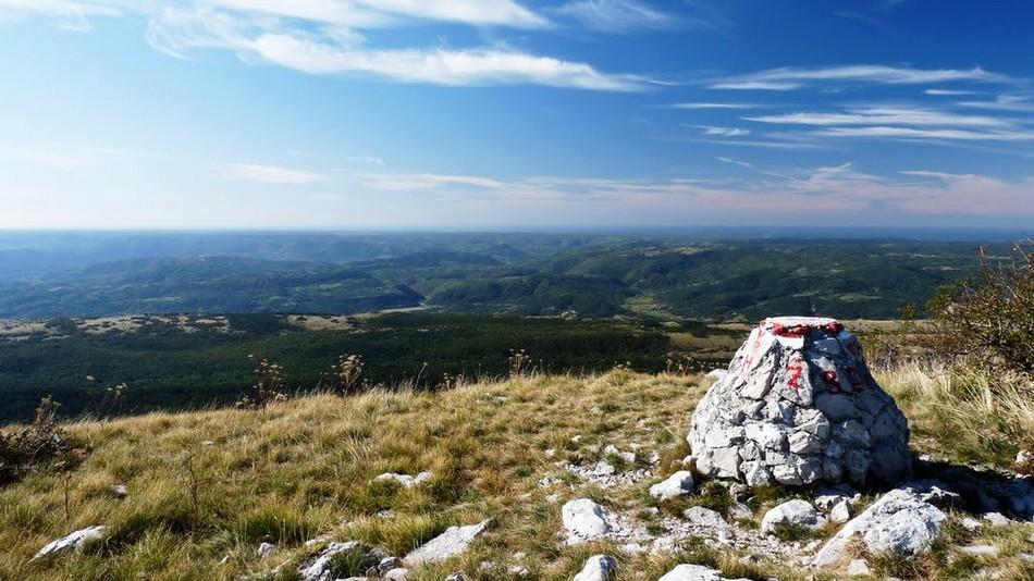 Vrh Žbevnice (1014 m)